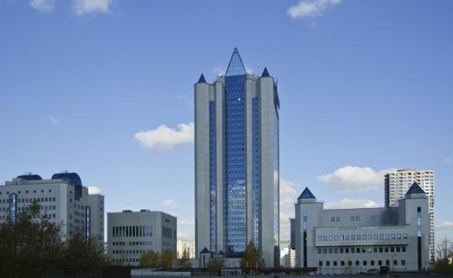 Централата на Газпром в Москва