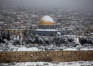 Сняг затрупа Йерусалим