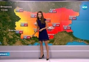 Прогноза за времето (25.05.2015 - централна)