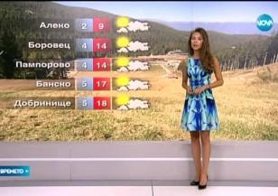 Прогноза за времето (30.05.2015 - обедна)