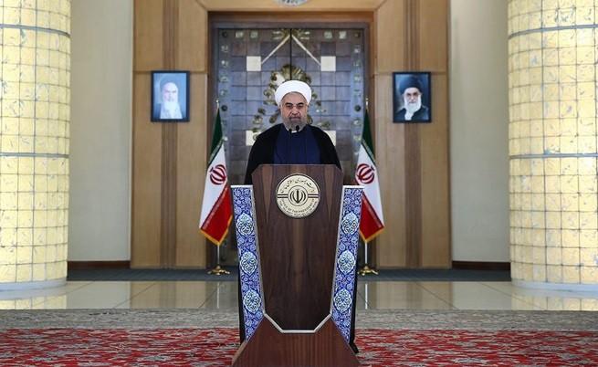 Иранският президент Хасан Рохани направи изявление след постигането на споразумението