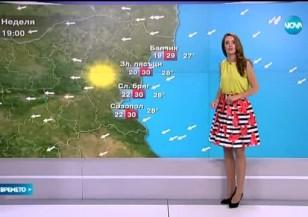 Прогноза за времето (02.08.2015 - обедна)