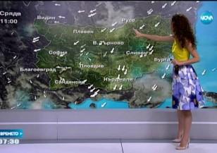 Прогноза за времето (05.08.2015 - сутрешна)