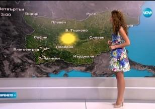Прогноза за времето (03.09.2015 - обедна)