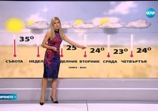 Прогноза за времето (05.09.2015 - обедна)