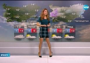 Прогноза за времето (10.02.2016 - обедна)