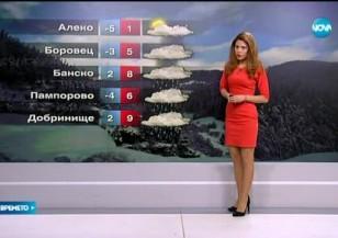 Прогноза за времето (12.02.2016 - обедна)