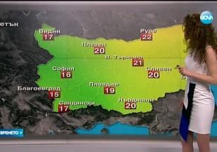 Прогноза за времето (29.04.2016 - обедна)