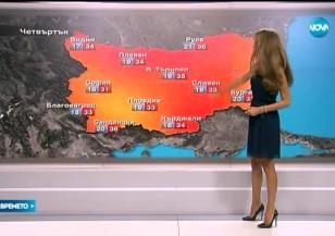 Прогноза за времето (27.07.2016 - централна)