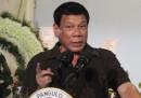Президентът на Филипините Родриго Дутерте