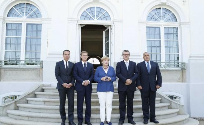 Днес, 27 август, премиерът Бойко Борисов се срещна с канцлера на Федерална република Германия Ангела Меркел. В разширените дискусии участваха и министър-председателите на Хърватия, Словения и Австрия.
