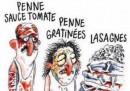 """Съдят """"Шарли Ебдо"""" заради """"Италианското меню"""""""
