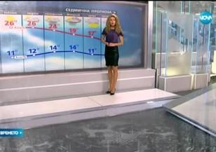 Прогноза за времето (01.10.2016 - сутрешна)