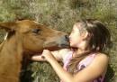 Открит урок по конна терапия за деца със специфични нужди