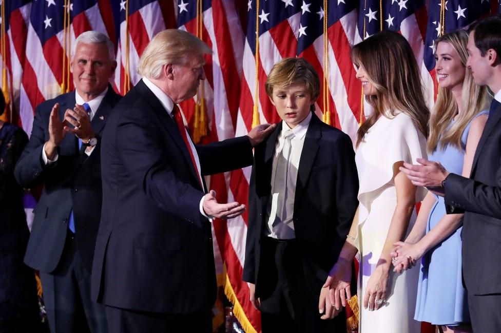 - След като стана ясно, че Доналд Тръмп ще бъде 45-ият президент на САЩ, вниманието на медиите бе приковано към него и цялото му семейство, което ще...