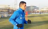 Костадинов се завърна и тренира на Герена