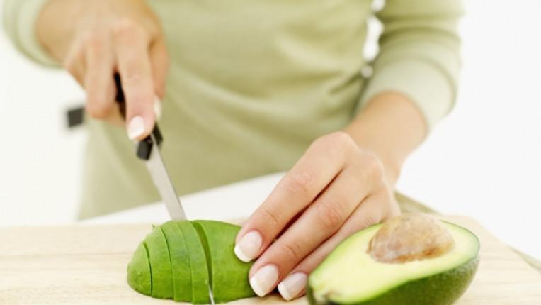 авокадо ръце домакиня