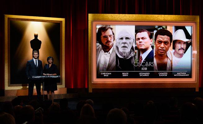 Номинациите за най-добър актьор