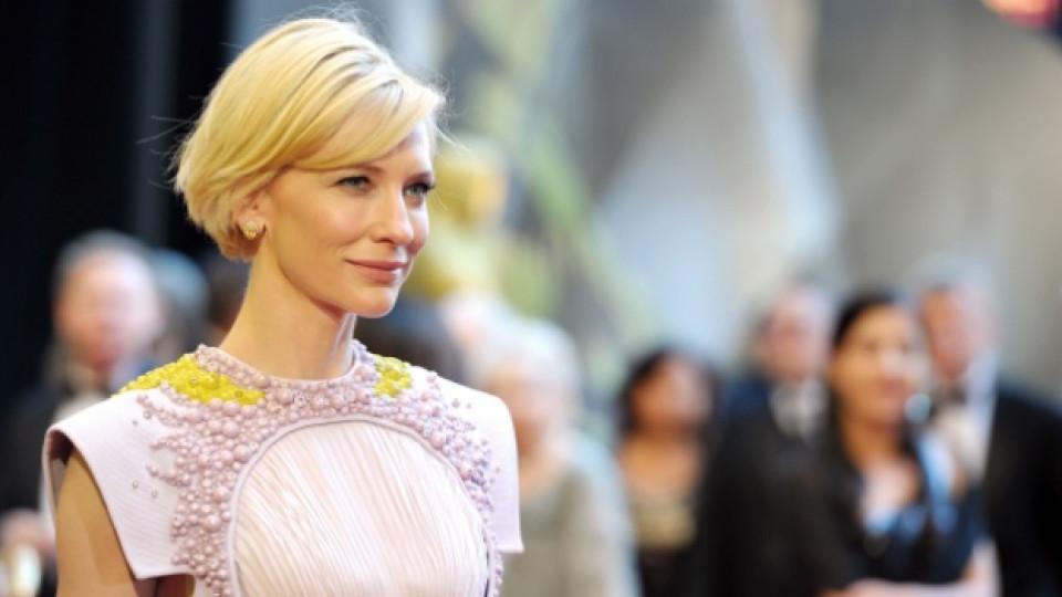 """Кейт Бланшет пристига на миналогодишната церемония по раздаването на наградите """"Оскар"""""""