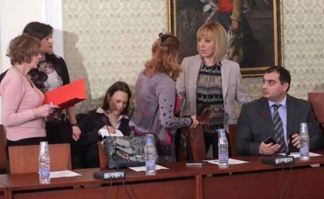 Новият изборен кодекс беше приет от временната комисия в НС
