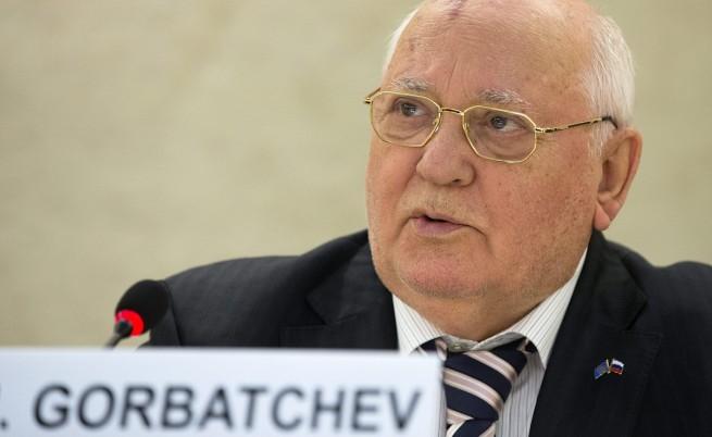 Михаил Горбачов помоли Владимир Путин и Барак Обама да помогнат на Украйна