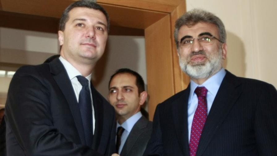 Стойнев: Подписваме за газова връзка с Турция през март