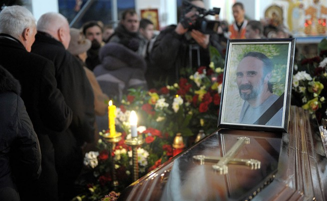 Погребението на Юрий Вербицки