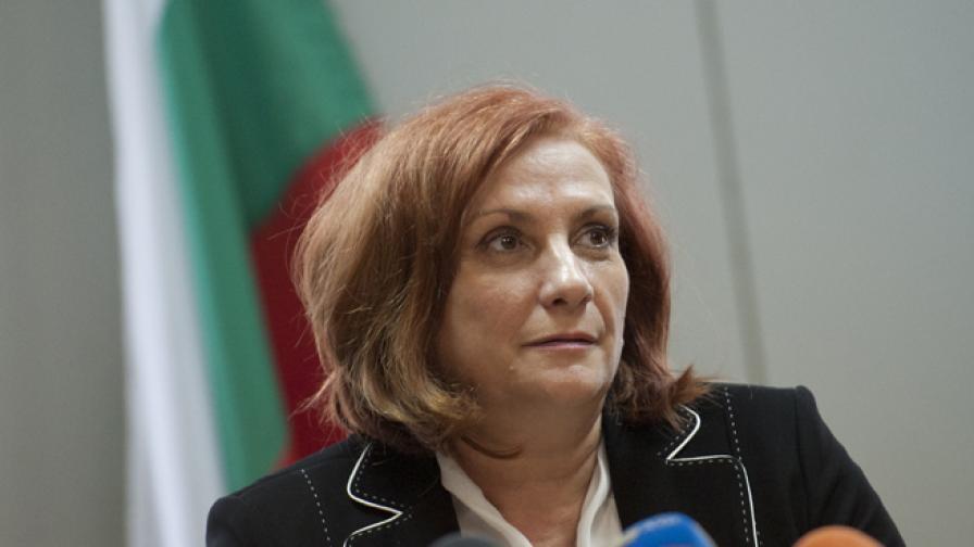 Искра Михайлова, министър на околната среда и водите