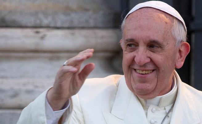 Папа Франциск – и на корицата на