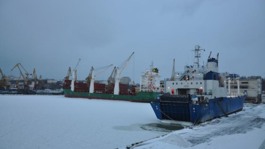 Черно море замръзна край Одеса