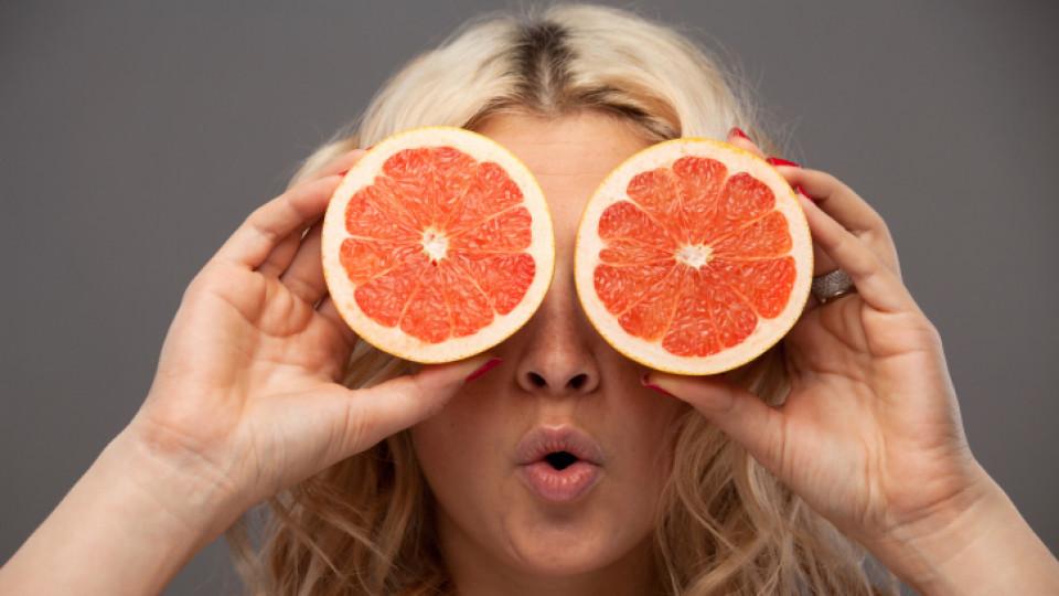 Грейпфрут в помощ на кожата