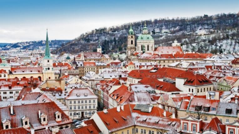 прага чехия изглед столица европа