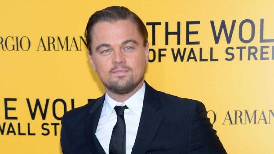 """Леонардо ди Каприо на премиерата на филма """"Вълкът от Уолстрийт"""""""