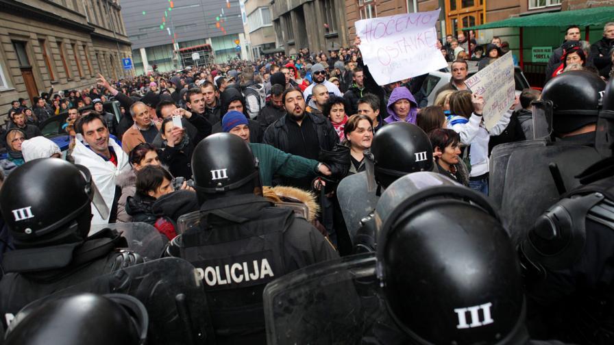 Съд в Сараево нареди медиите да предадат материалите от протестите