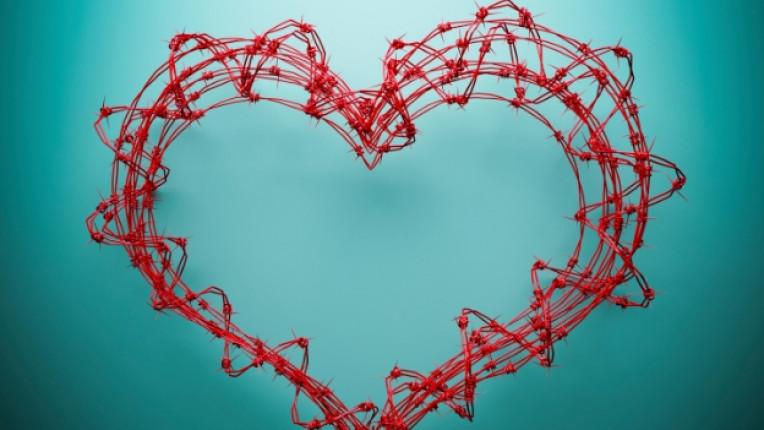 свети валентин любов сърце