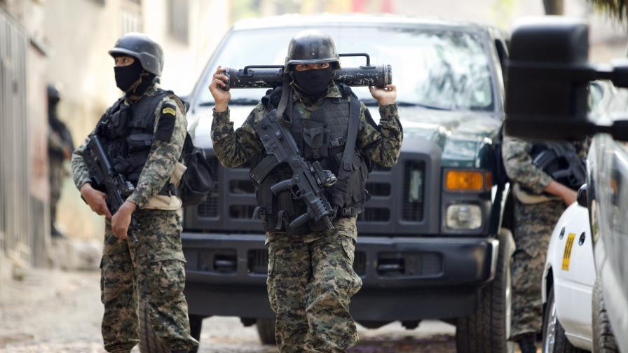 хондурас полиция
