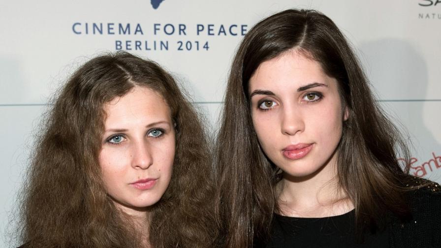 Мария (вляво) и Надежда в Берлин на 10 февруари