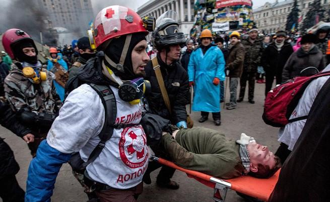 При безредиците в Киев са пострадали над 600 души