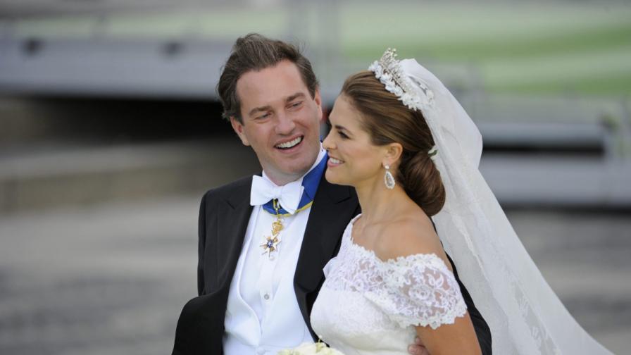 Шведската принцеса Мадлин роди дъщеричка