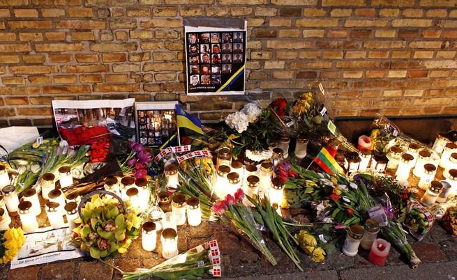 Траур в Киев: Слава за героите, умрели в Украйна