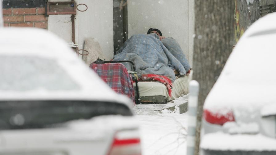 Нов проект подава ръка на бездомните в София