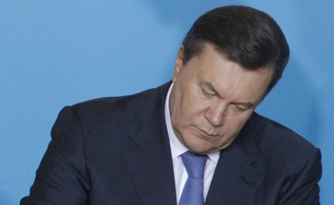 Янукович е обявен за международно издирване