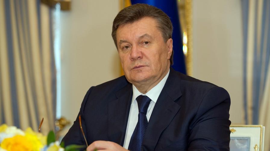 Украински съд издаде заповед за задържане на Янукович