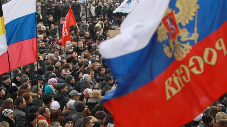 Проруски настроени жители на Украйна
