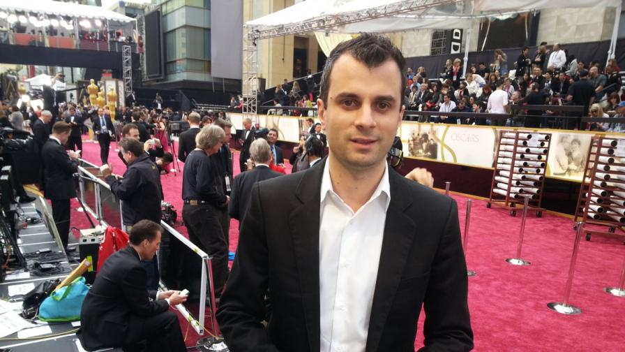 """Предаване директно от червения килим на """"Оскарите"""""""