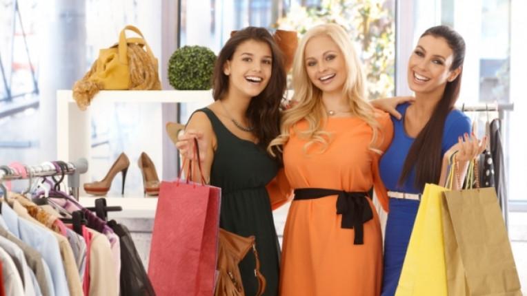 шопинг жена приятелка мол
