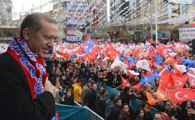 Ердоган: Ако не сме първи, ще се оттегля от политиката