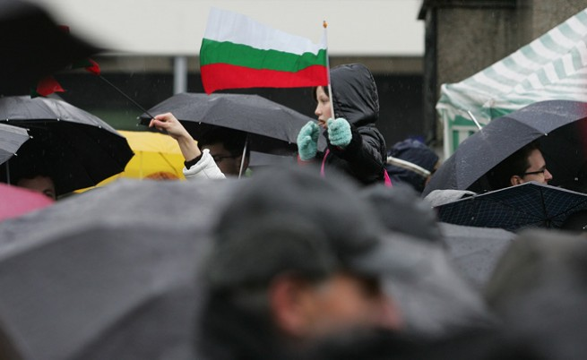 Русофили срещу русофоби на протест в София