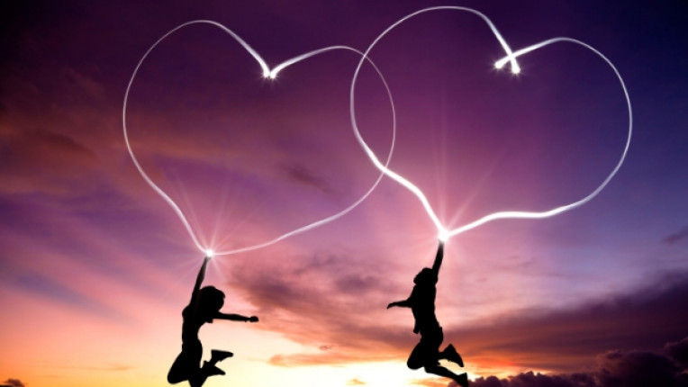 любов двойка залез романтика връзка