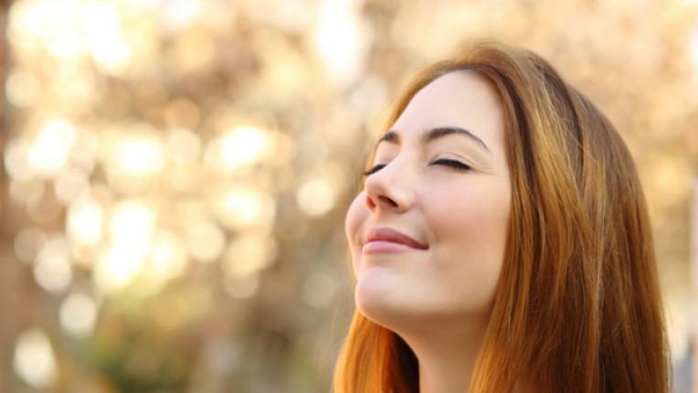 хармония спокойствие жена усмивка